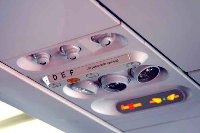 Кондиционер на борту самолета