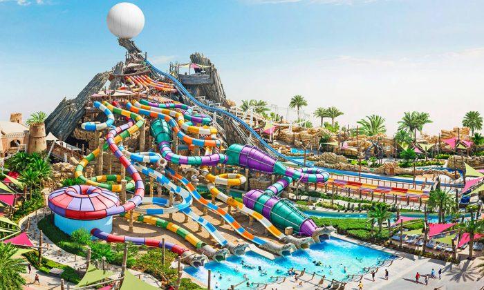 Аквапарк Yas Waterworld в Абу-Даби