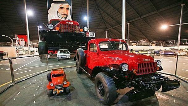Национальный автомобильный музей Эмиратов в Абу-Даби