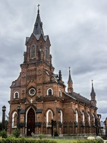 Владимир. Костел Святого Розария.