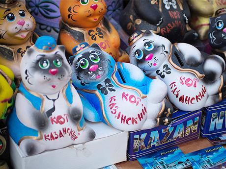 Сувенир «Казанский кот»