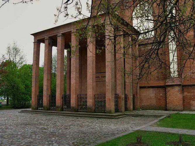 Могила Иммануила Канта в Калининграде