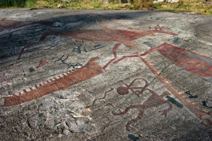 петроглифы в Старой Залавруга