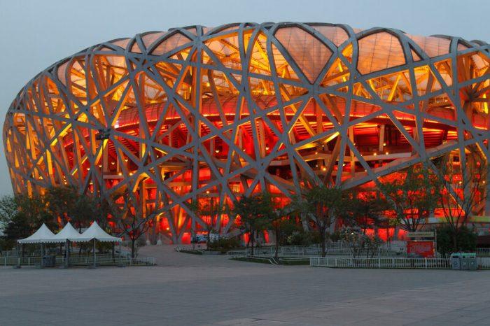 Стадион, Олимпийский парк, Пекин