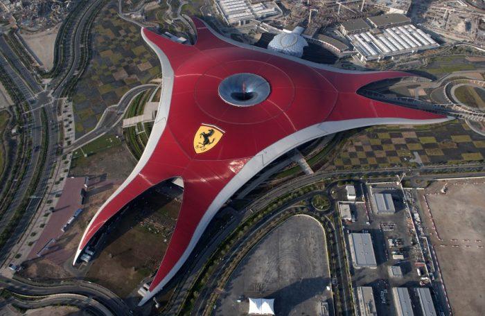 Развлекательный парк Ferrari World