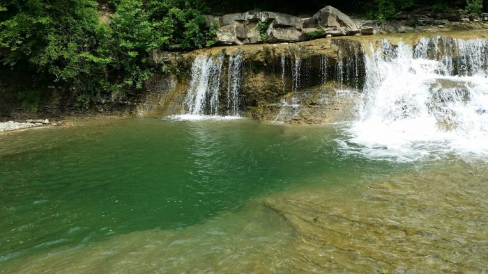 водопады Жане, Геленджик