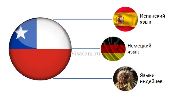 История языков Чили