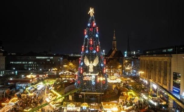 Рождественская елка в Дортмунде
