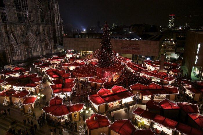 Рождественская ярмарка Кёльна