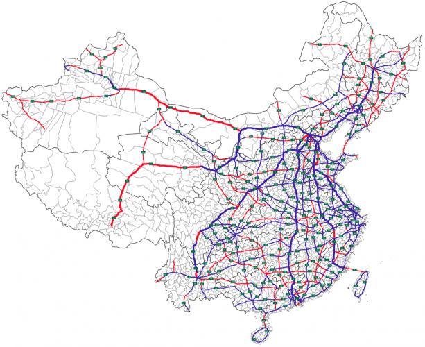 Система национальных автодорог Китая