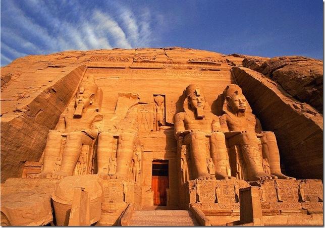 Храмы в Абу-Симбеле, Египет