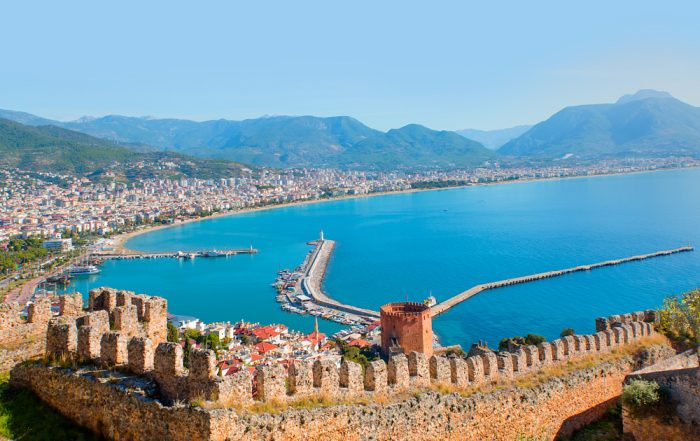 Бухта Алании. Алания, Турция.