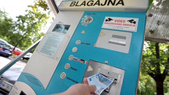 Паркомат в Словении