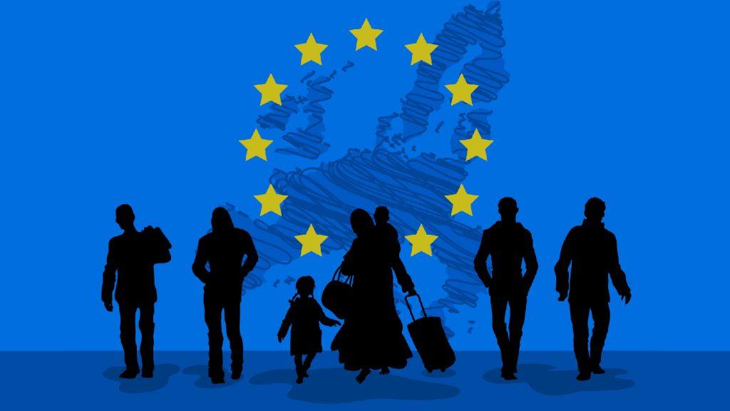 Беженцы в странах Европы