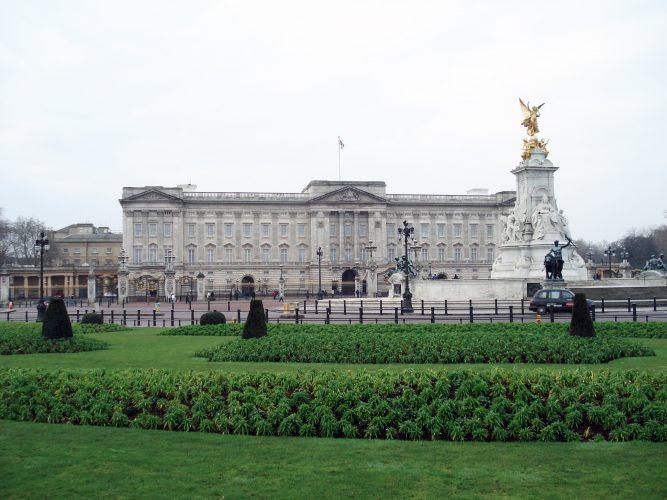 Букингемский дворец, в Лондоне