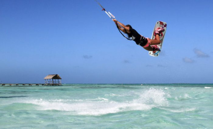 Кайтсерфинг на Кубе