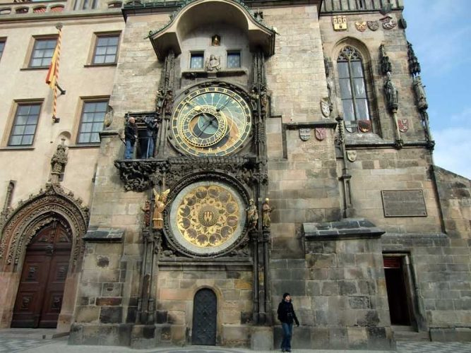 Часовая башня в Праге