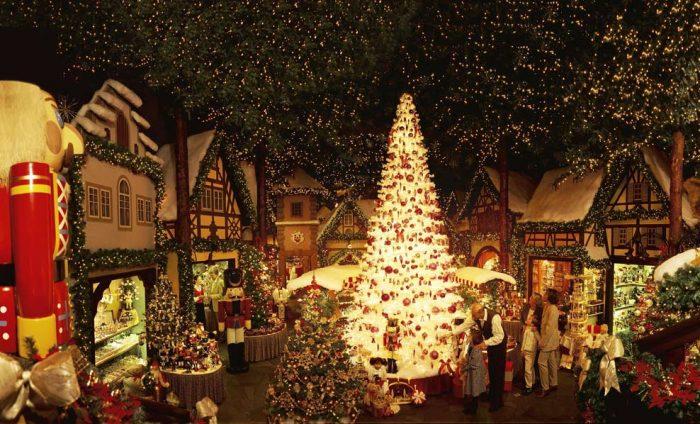 Рождественская деревня в Ротенбурге