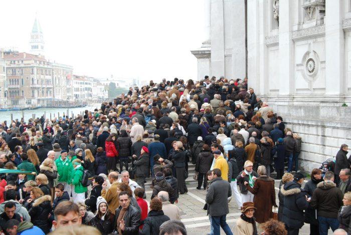 день Мадонны делла Салюте в Венеции