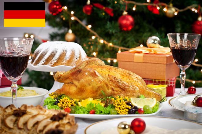 Немецкий праздничный стол