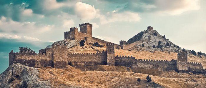 Генуэзская крепость (Судак, Крым)