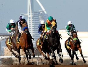 Конный ипподром Над аль-Шеба в Дубаи.