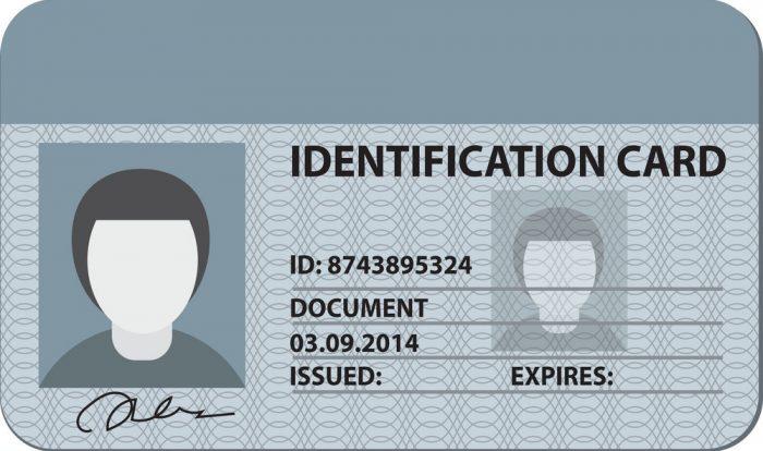 Шаблон ID-карты