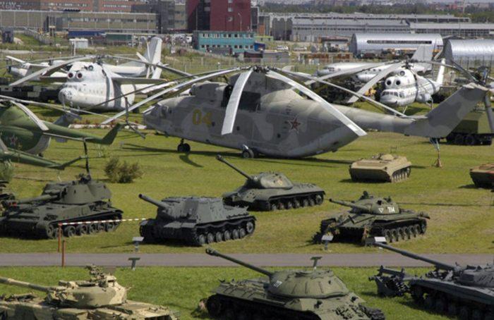 Танковый музей в поселке Кубинка