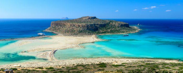Пляж Мпалос, Крит