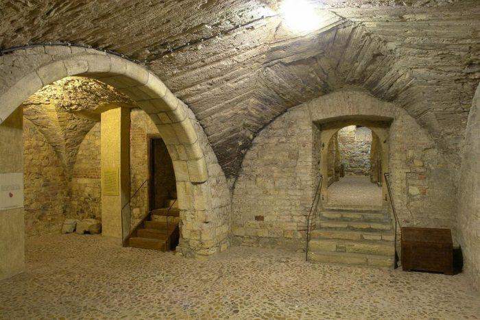 Пражские подземелья