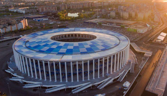 Стадион Нижнего Новгорода: как добраться, схема, места и сектора