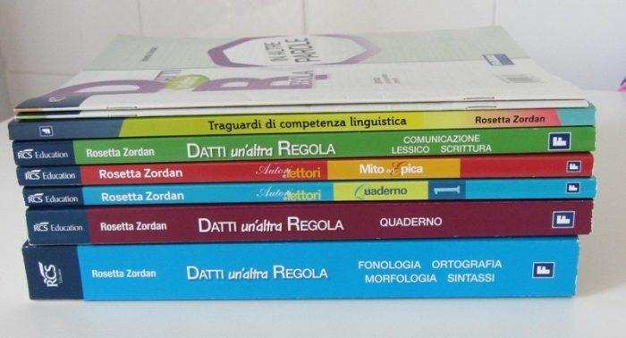 Учебники средней младшей школы в Италии
