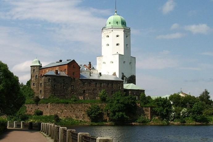 башня святого Олафа в Выборге