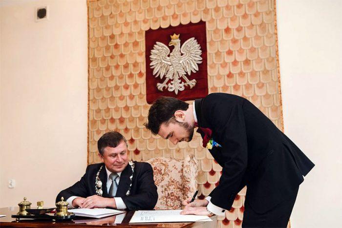 Брак в польском ЗАГСе