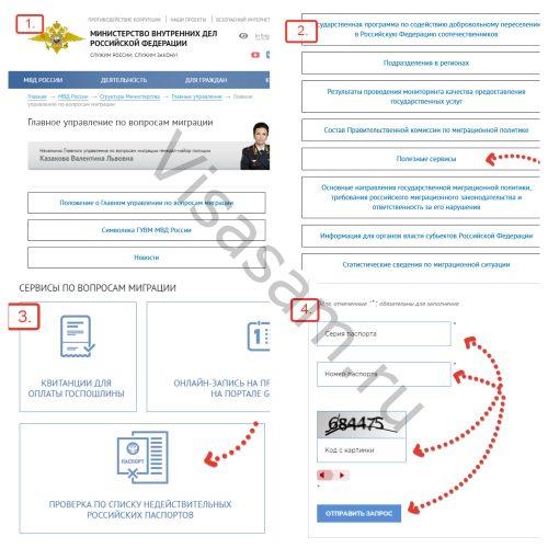 Действительность паспорта: проверка онлайн