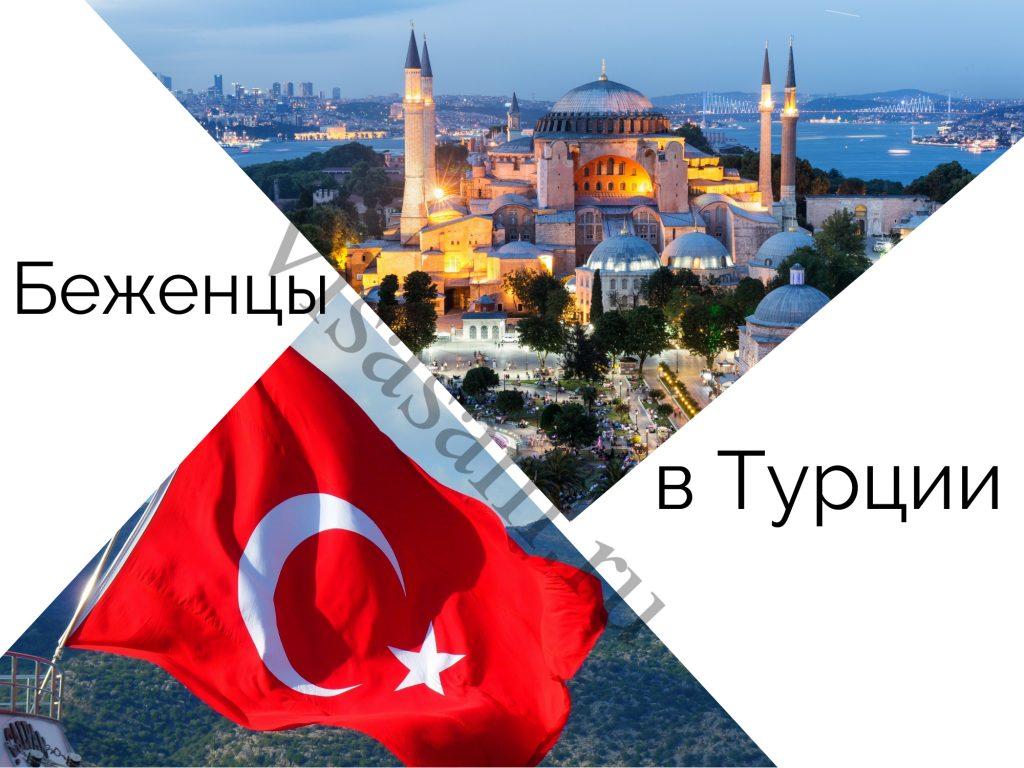 Беженцы в Турции