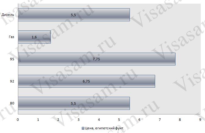 Стоимость и цена 1 литра бензина в Египте : российские и международные водительские права