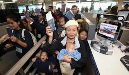 Беженцы в Южной Корее