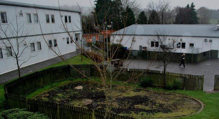 Центр размещения беженцев в Ирландии