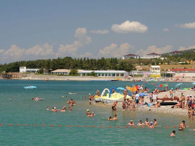 Пляж Дивноморского