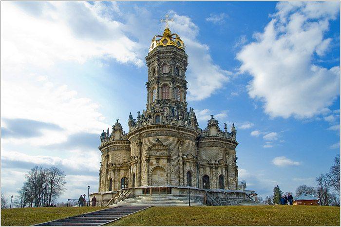 Знаменский храм с. Дубровицы