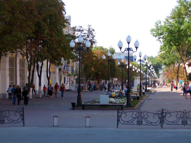 улица Свердлова Ейска