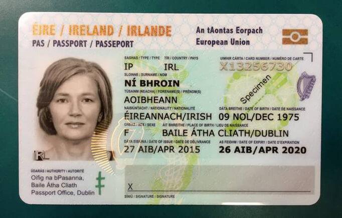 Ид-карта гражданина Ирландии