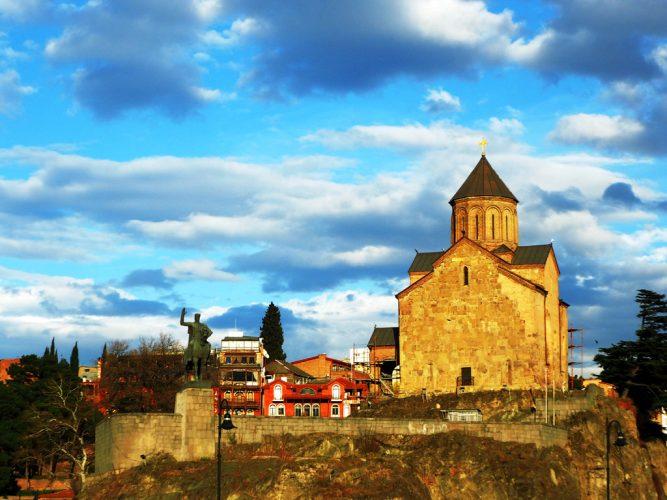 Церковь Метехи в Тбилиси, Грузия