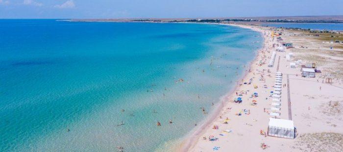 Песчаный пляж, Оленевка