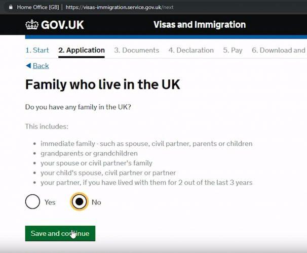 родственники, проживающие в Великобритании