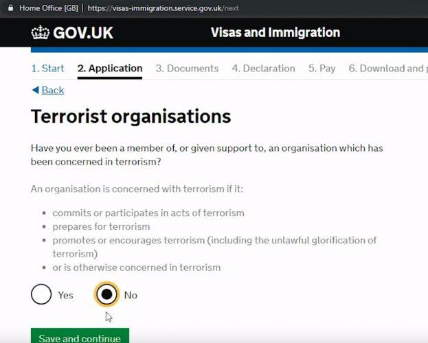 блок терроризма