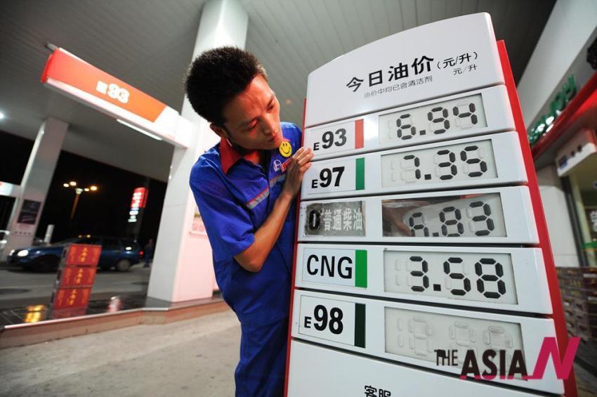 бензин в Китае