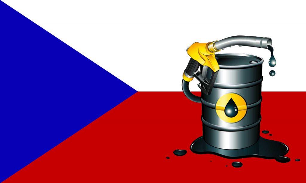 Стоимость бензина в Чехии
