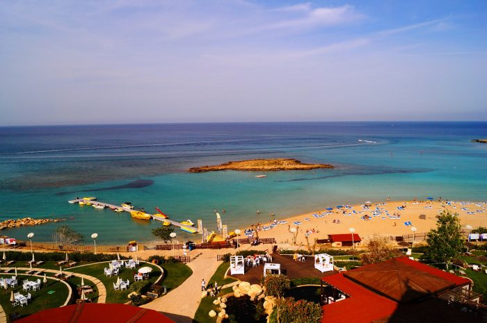 бухта Фиг-Три на Кипре